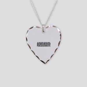 Percussionists Designs Necklace Heart Charm