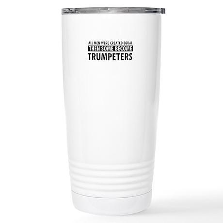 Trumpeters Designs Stainless Steel Travel Mug