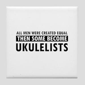 Ukulelists Designs Tile Coaster
