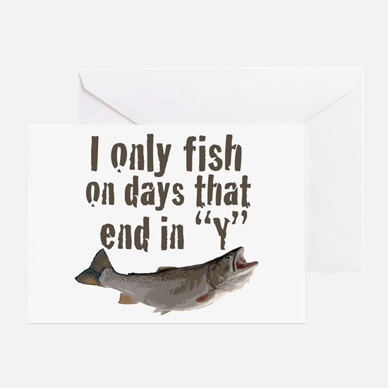 I fish Greeting Card