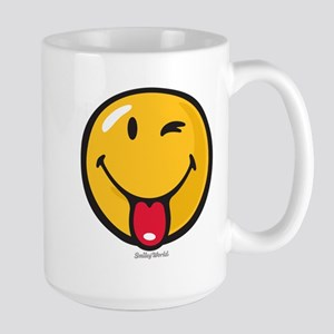 Smileyworld Playful Large Mug