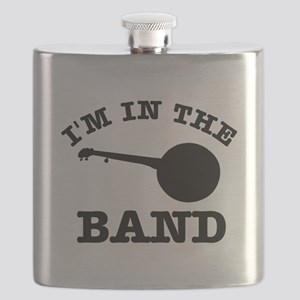 Banjo Gift Items Flask