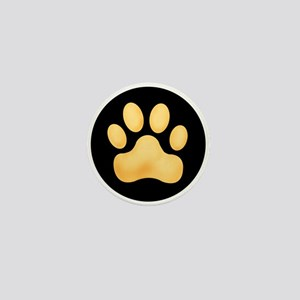 Paw Spot Mini Button