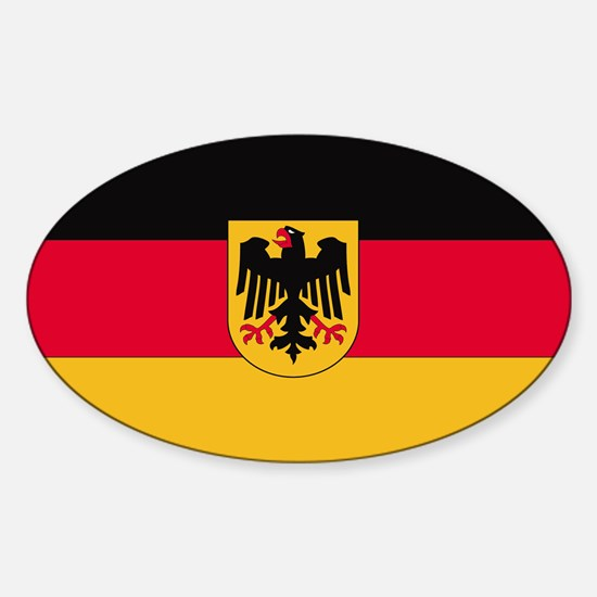 Germany Oval Decal