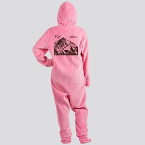 k2-8612 Footed Pajamas