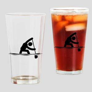 Canoe Sprint Drinking Glass