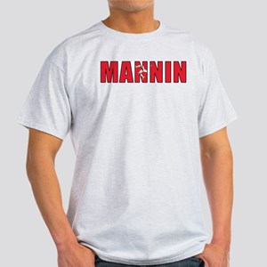 Isle of Man (Manx) Ash Grey T-Shirt