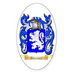 Adamsen Sticker (Oval 50 pk)