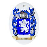 Adamsen Ornament (Oval)