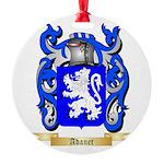 Adanet Round Ornament