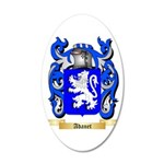 Adanet 20x12 Oval Wall Decal