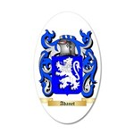 Adanet 35x21 Oval Wall Decal