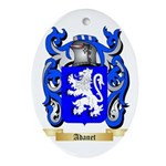Adanet Ornament (Oval)