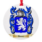 Adanez Round Ornament