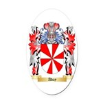Aday Oval Car Magnet
