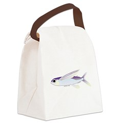 Flying Fish Canvas Lunch Bag