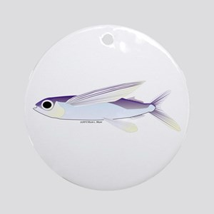 Flying Fish Ornament (Round)