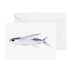 Flying Fish Greeting Cards (Pk of 20)