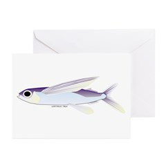 Flying Fish Greeting Cards (Pk of 10)