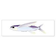 Flying Fish Sticker (Bumper 50 pk)