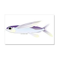 Flying Fish Car Magnet 20 x 12