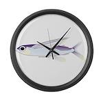 Flying Fish Large Wall Clock
