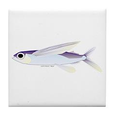 Flying Fish Tile Coaster