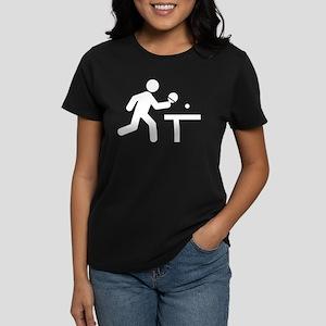 Ping Pong Women's Dark T-Shirt