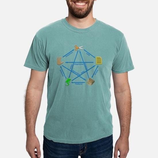 Spock Lizard Mens Comfort Colors Shirt