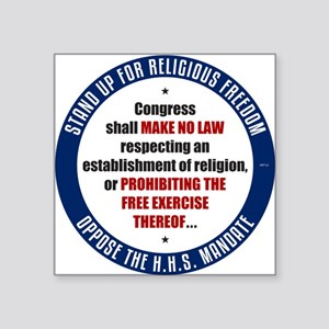 Oppose The HHS Mandate Sticker