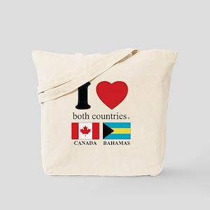 CANADA-BAHAMAS Tote Bag