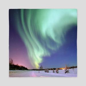 Alaska Aurora Queen Duvet