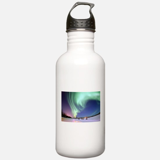 Alaska Aurora Water Bottle
