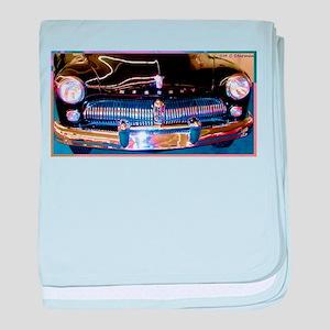 Ford, Mercury, Car, retro, baby blanket
