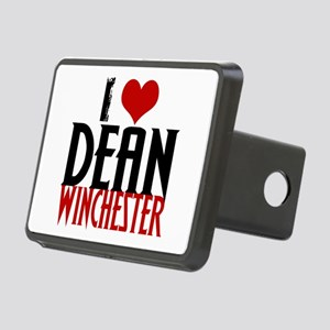 I Love Dean Winchester Rectangular Hitch Cover
