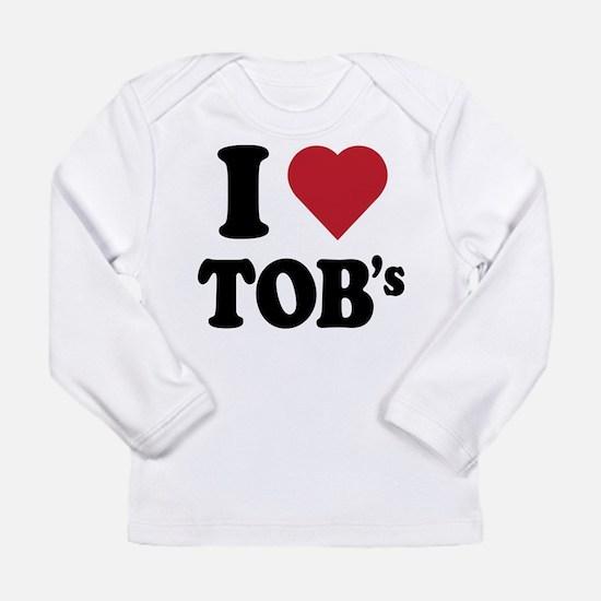 I heart tob's Long Sleeve Infant T-Shirt