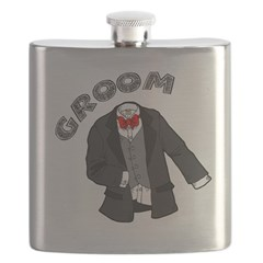 Wedding Groom Flask