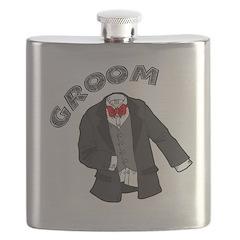 Wedding Groom Flask