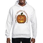 Gaelic Carved Pumpkin Hooded Sweatshirt