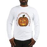 Gaelic Carved Pumpkin Long Sleeve T-Shirt