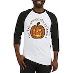 Gaelic Carved Pumpkin Baseball Jersey