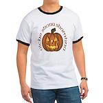 Gaelic Carved Pumpkin Ringer T