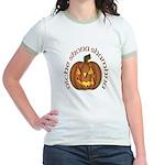 Gaelic Carved Pumpkin Jr. Ringer T-Shirt