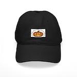 Gaelic Carved Pumpkin Black Cap