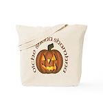 Gaelic Carved Pumpkin Tote Bag