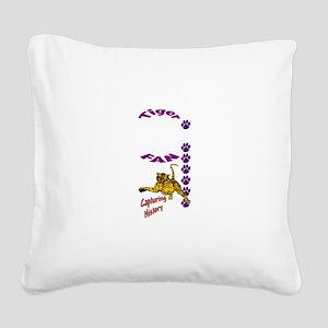 tigerfan Square Canvas Pillow