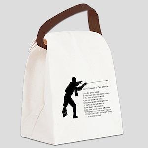 fencingdate Canvas Lunch Bag