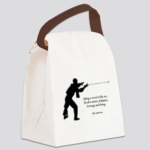 fencingsex Canvas Lunch Bag