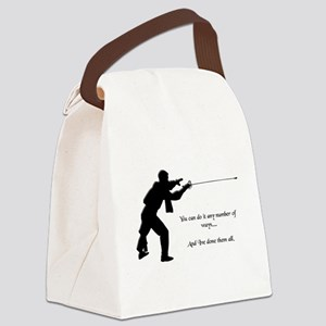 fencinganynumber Canvas Lunch Bag