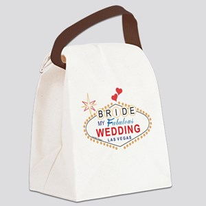 Vegas Bride Canvas Lunch Bag